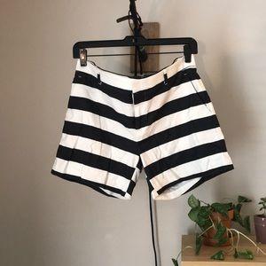Banana Republic Striped Shorts